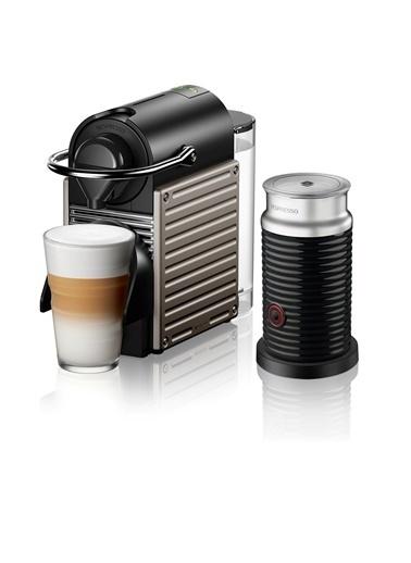 Nespresso C66T Pıxıe Tıtan Bundle Kapsüllü Kahve Makinesi Renkli